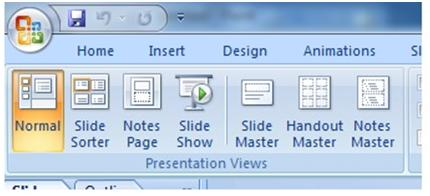 how to add a master slide in powerpoint 2007