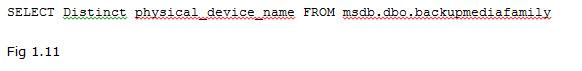 Directions Training Microsoft SQL Server Figure 1.11