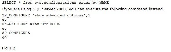Directions Training Microsoft SQL Server Figure 1.2