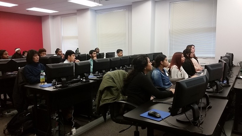 CPS students enjoy IT and professional development training at Directions Training in Chicago.