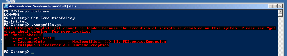 Directions-Training-System-Center-Orchestrator-Run-Net-Script-Bypass-Local-PowerShell-Execution-Policy-Remotely-2