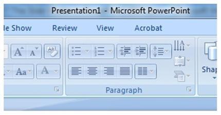 Microsoft Powerpoint Slide Master Figure 1