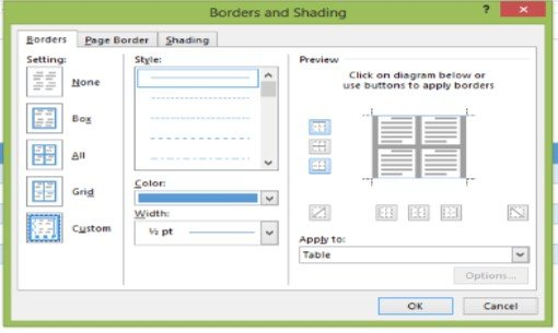 Table tool enhancements in word 2013 microsoft training it so to make this process easier microsoft word 2013 now contains two new tools for enhancing table borders the border painter and the border sampler ccuart Choice Image