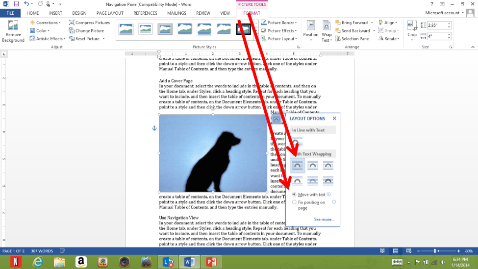 smart tags and guides in word 2013 microsoft training it