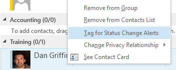 Know Where Your Colleagues Are, #Skype4B Status Update Alerts
