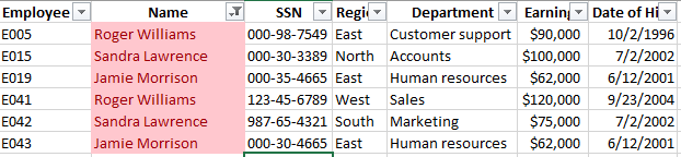 Directions-Training-Excel-Duplicates-Conditional-Formatting-7