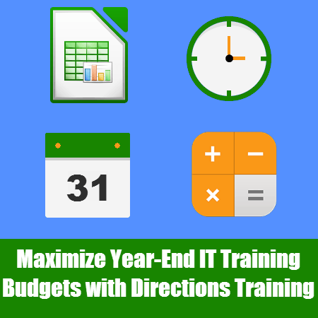 Maximize Year-end IT Training Budget